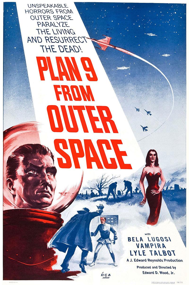 Affiche du film Plan 9