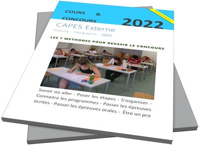 Le guide du CAPES externe d'histoire-géographie