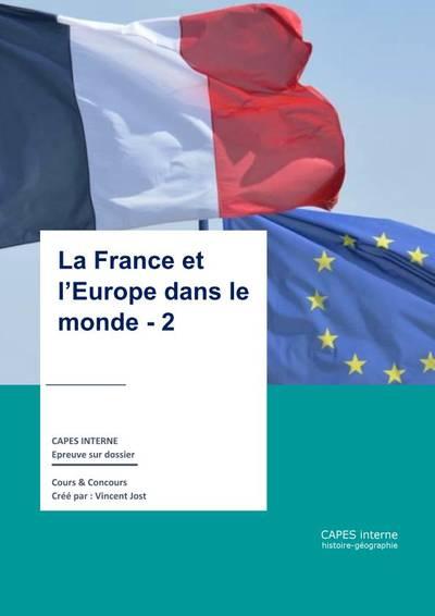 Franc e et Europe dans le monde