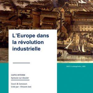 Europe et révolution industrielle