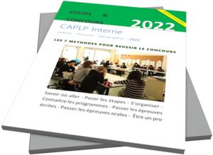 Le guide du concours du CAPLP interne Lettres-Histoire