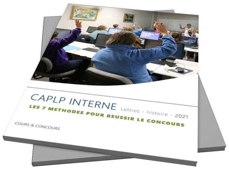 Guide du CAPLP interne Lettres-histoire