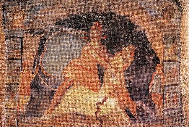Religions et pouvoir. Culte de Mithra